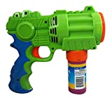 PROUDLY PRESENTS BY RAINBOW BUBBLES Bubble Blaster (Automatic Bubble Gun w/ 1 Bubble Solution in...