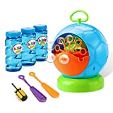 Fansteck Bubble Machine - Bubble Machine for Toddler and Kids Outdoors - Automatic Bubble Maker 800+...