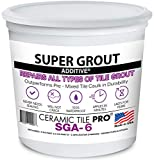 SGA 6 - Super Grout Additive Premium Waterproof Tile Grout Repair and Adhesive (Grout Sold...
