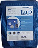 Kotap TRA-3040 All Purpose Poly Tarp, Mold, Mildew, Tear and UV Resistant, 30 x 40-Foot, Blue